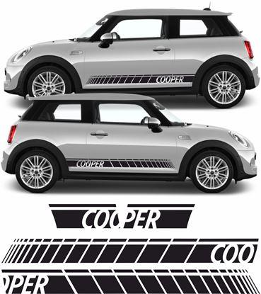 Picture of Mini R56 / R57 / R58 / R59 Cooper side Stripes
