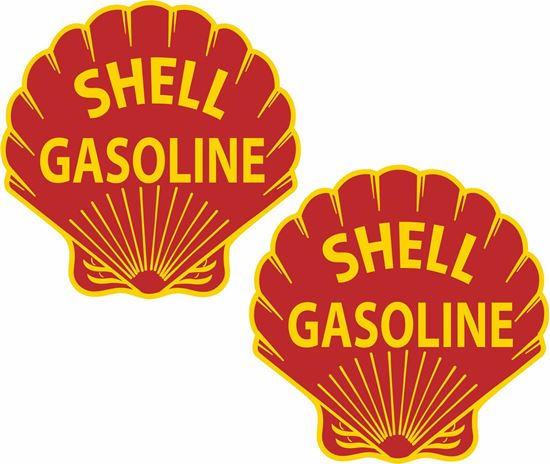 Picture of Shell general panel  Decals / Stickers