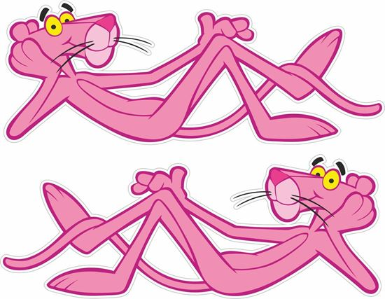 Picture of Pink Panther Decals / Stickers