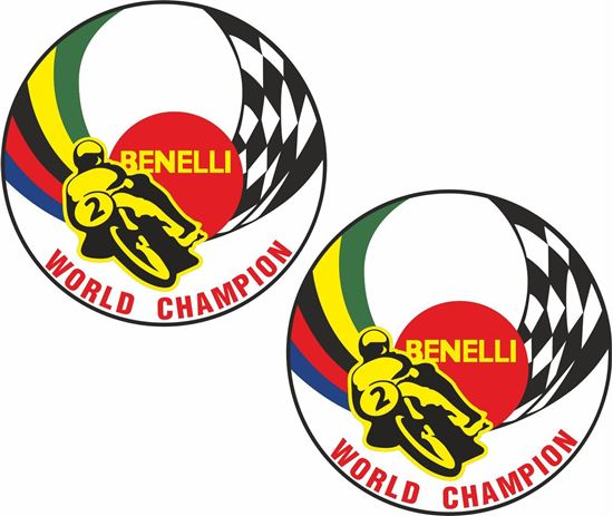 Picture of Benelli World Champion Decals / Stickers