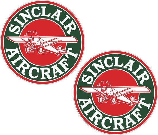Picture of Sinclair Aircraft Decals / Stickers