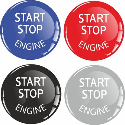 Picture of Start / Stop Engine Gel Badge