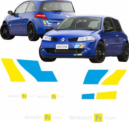 Picture of Renault Megane R26 F1 Team replacement Decals / Stickers