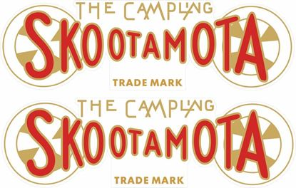 Picture of ABC The Campling Skootamota Decals / Stickers