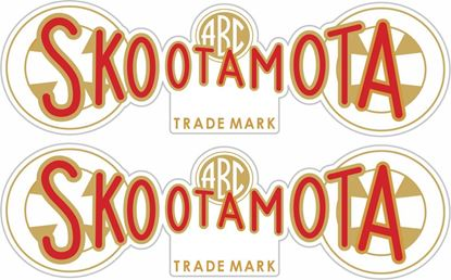 Picture of ABC Skootamota Decals / Stickers