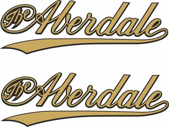 Picture of Aberdale Motorcycle Decals / Stickers