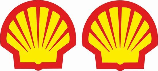 "Picture of ""Shell"" Decals / Stickers"