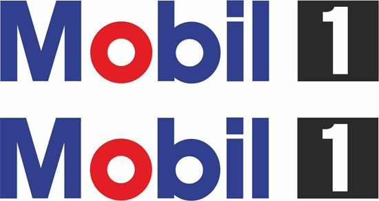"""Picture of """"Mobil 1"""" Decals / Stickers"""