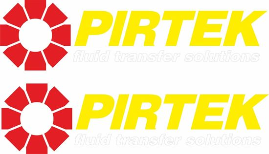 "Picture of ""Pirtek""  Decals / Stickers"