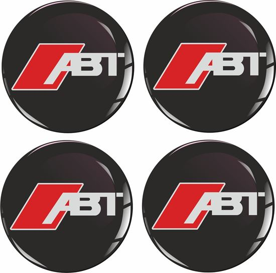 Picture of Audi ABT Wheel centre Gel Badges