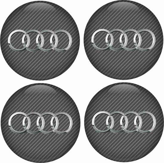 Picture of Audi Wheel centre Gel Badges