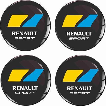 Picture of Renault Sport Wheel centre Gel Badges