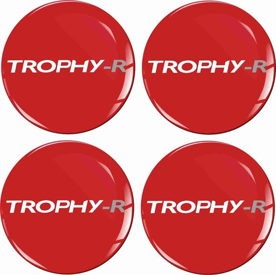 Picture of Trophy-R Wheel centre Gel Badges