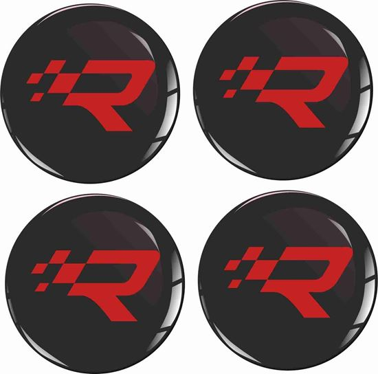 Picture of R26R Wheel centre Gel Badges