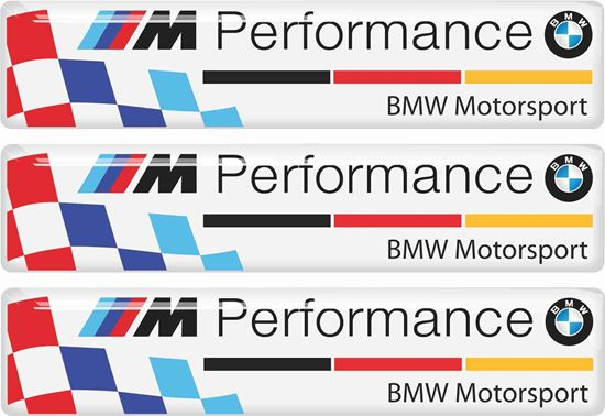 Picture of BMW German M Performance adhesive Badges