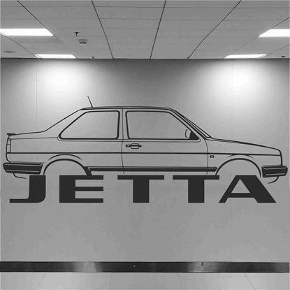 Picture of Volkswagen Jetta MK2 Wall Art sticker
