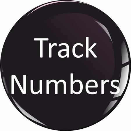 Picture for category MotoGP Nose Cone Trak Numbers