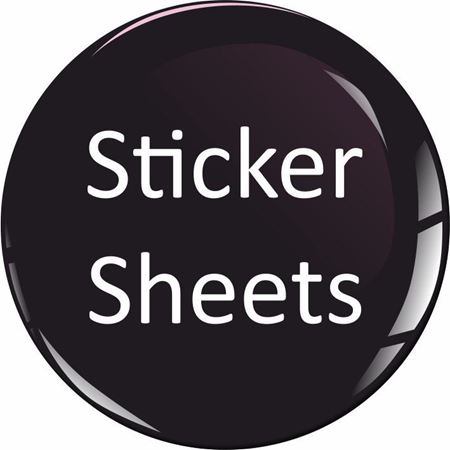Picture for category Sponsor Sticker Sheets