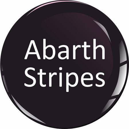 Picture for category Fiat Abarth Stripes / Roof Stickers