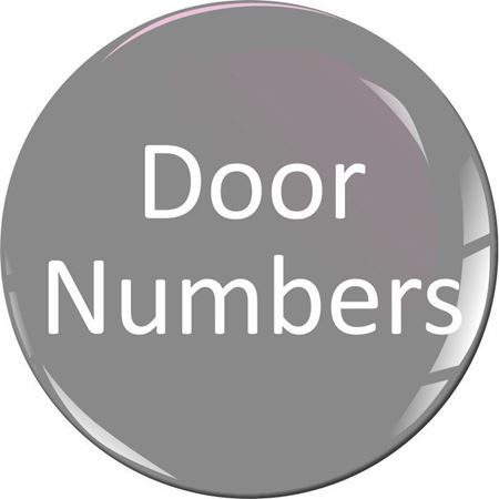Picture for category Door Numbers
