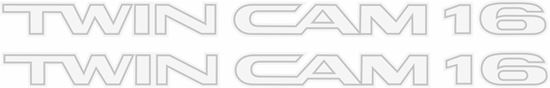 Picture of Toyota Corolla AE82 GT replacement lower side  Decals / stickers