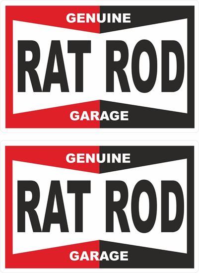 Picture of Genuine Rat Rod Decals / Stickers