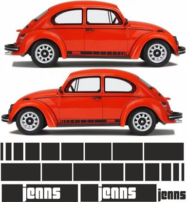 Picture of Classic MK1 Beetle Jenns side Stripes / Stickers