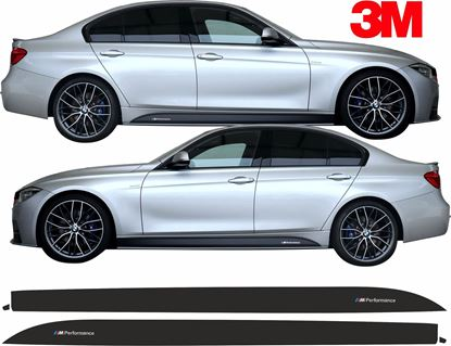 Picture of BMW 3 Series F30 / F31 side Sill Stripes / Stickers 3M SCOTCHCAL
