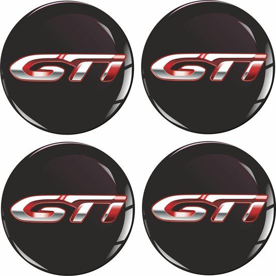 Picture of Peugeot GTi Wheel centre Gel Badges