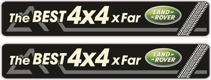 Picture of Land Rover Decals / Stickers