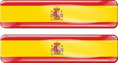 Picture of Spain 70mm Exterior Gel Badges