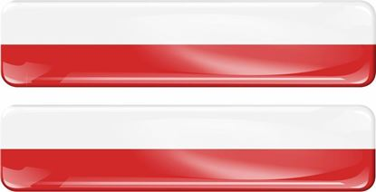 Picture of Poland 70mm Exterior Gel Badge