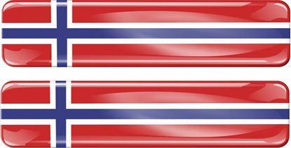 Picture of Norway 70mm Exterior Gel Badge