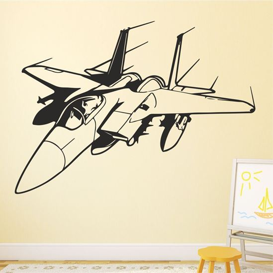 Picture of Jet Fighter Wall Art sticker