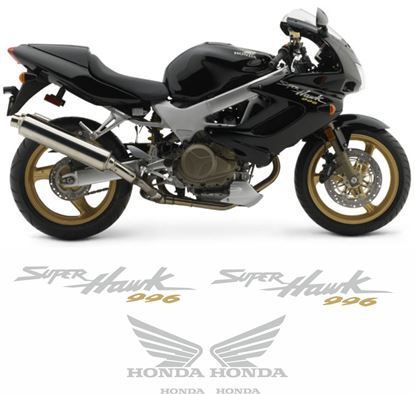 Picture of Honda VTR 1000F Superhawk 2004 replacement Decals / Stickers