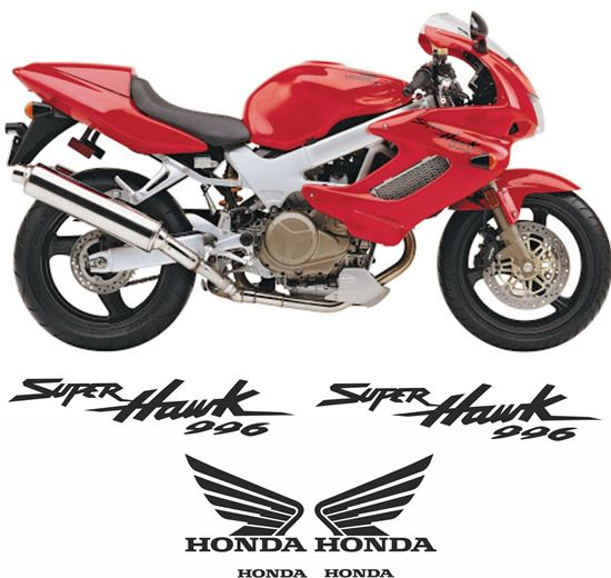 Picture of Honda VTR 1000F Superhawk 2002 replacement Decals / Stickers