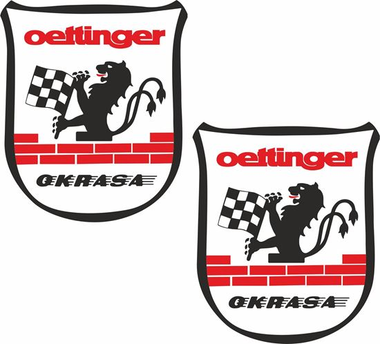 "Picture of ""oettinger""  Decals / Stickers"