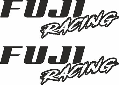 Picture of Fuji Racing panel / Glass Decals / Stickers