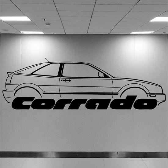 Picture of Volkswagen Carrado Wall Art sticker