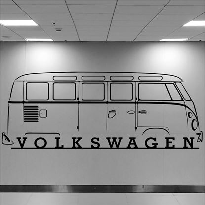 Picture of Volkswagen T1 Camper Wall Art sticker