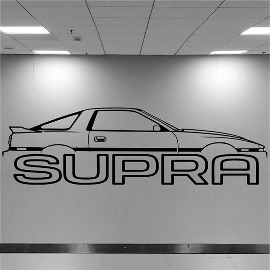 Picture of Toyota Supra Wall Art sticker