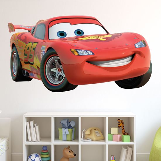 Picture of Cars: Lightning Mcqueen Wall Art sticker