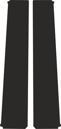 Picture of Peugeot 306 3 Door B Pillar textured protection Vinyl / stickers