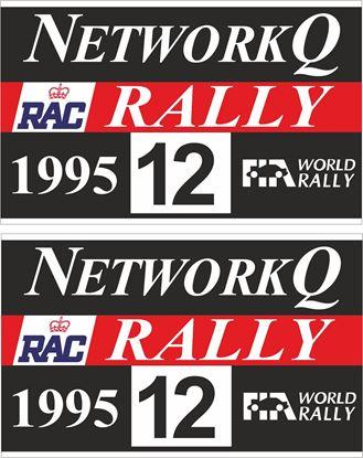 Picture of Network Q RAC Rally  Door Decals / Stickers