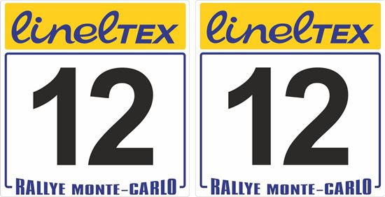 Picture of Rallye Monte Carlo LinelTEX Door Numbers