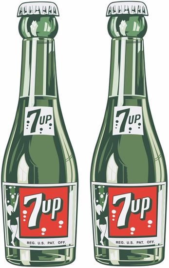 Picture of 7up Decals / Stickers