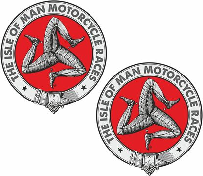 Picture of Isle of Man Races Decals / Stickers