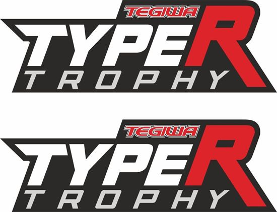 Picture of Tegiwa Type R Trophy Decals / Stickers