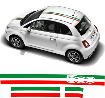 Picture of Fiat 500 OTT Stripes / Stickers FACTORY FIT