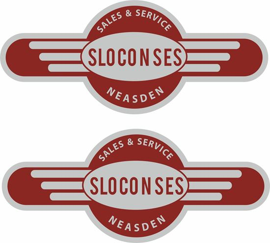 Picture of Sloconses Neasden Dealer Decals / Stickers
